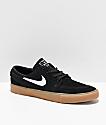 Nike Janoski RM SE zapatos de skate de ante negro y goma