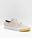 Nike Janoski RM SE zapatos de skate en blanco y ante gris