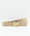 Nike Metallic Gold Web Belt