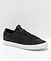 Nike SB Blazer Zoom Low Deconstructed Black & White Skate Shoes