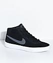 Nike SB Bruin Hi Black, Dark Grey & White Skate Shoes