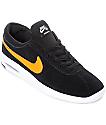 Nike SB Bruin Vapor Air Max zapatos de skate en negro y color naranja