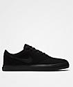 Nike SB Check Solarsoft Black & Black Shoes