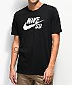 Nike SB Dri-Fit Logo camiseta negra