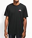 Nike SB Dri-Fit Script Black T-Shirt