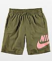 Nike SB Dri-Fit Sunday shorts en verde oliva
