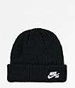 Nike SB Fisherman Black Beanie