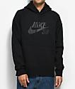 Nike SB Icon Black Hoodie