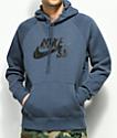 Nike SB Icon Blue Hoodie