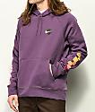 Nike SB Icon Graphic Purple Hoodie