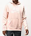 Nike SB Icon Light Pink Hoodie