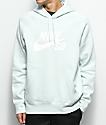 Nike SB Icon sudadera con capucha en azul claro