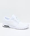 Nike SB Janoski Air Max zapatos de skate blancos