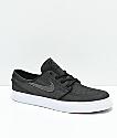Nike SB Janoski Anthracite zapatos skate de lienzo gris
