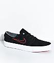 Nike SB Janoski High Tape O'Neill zapatos de skate rojos y negros