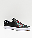 Nike SB Janoski Premium Crafted Black Slip On Skate Shoes