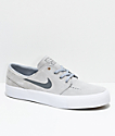 Nike SB Janoski Premium High Tape Wolf Grey & Dark Grey Skate Shoes