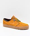 Nike SB Janoski Premium zapatos de skate de ante marrón