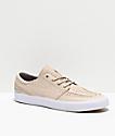 Nike SB Janoski RM Crafted Desert & White Skate Shoes