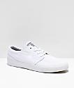 Nike SB Janoski RM zapatos de skate de lienzo blanco