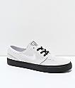 Nike SB Janoski Vast Grey & Black Suede Skate Shoes