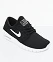 Nike SB Kids Janoski Air Max Black & White Skate Shoes