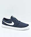 Nike SB Kids Portmore II Ultralight Thunder Blue Skate Shoes