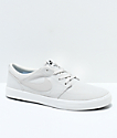 Nike SB Portmore II Summit White Canvas Skate Shoes