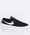Nike SB Portmore II Ultralight Black & White Skate Shoes