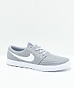 Nike SB Portmore II Ultralight Grey & White Shoes