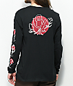 Nike SB Roses Black Long Sleeve T-Shirt