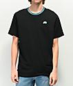 Nike SB Striped Rib camiseta negra