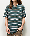 Nike SB Summer Stripe Dark Blue & White T-Shirt