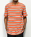 Nike SB Summer Stripe Orange T-Shirt