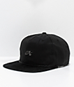 Nike SB Waxed Canvas Black Strapback Hat