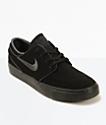 Nike SB Zoom Stefan Janoski Mono zapatos de skate en negro