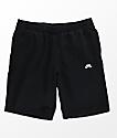 Nike SB shorts de polar en negro