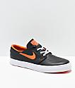 Nike SB x NBA Janoski Black & Orange Skate Shoes