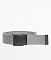 Nike Tech Essentials Grey & Black Web Belt