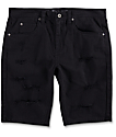 Ninth Hall Con shorts negros rotos