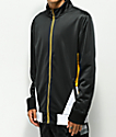 Ninth Hall Geoffry Zip Front Black & Yellow Jacket