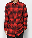 Ninth Hall Lank Black & Red Flannel Shirt