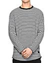 Ninth Hall Lynyrd camiseta de manga larga en blanco y negro