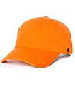 Ninth Hall Standard gorra strapback en color naranja