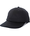 Ninth Hall Thunder Black Soft Bill Snapback Hat
