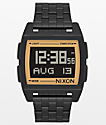 Nixon Base Black & Gold Digital Watch