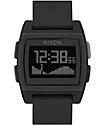 Nixon Base Tide All Black Digital Watch