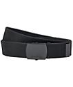 Nixon Basis cinturón tejido en negro