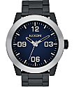 Nixon Corporal Ombre Black & Blue Watch