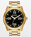 Nixon Corporal SS All Gold & Black Analog Watch